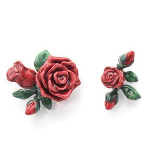 Серьги Роза