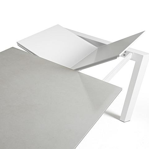 ATTA Стол 140 (200) x90 белый, керамика