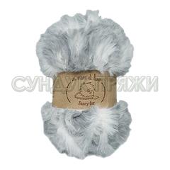 Wool Sea Fancy Fur 9980 (серо-белый меланж)