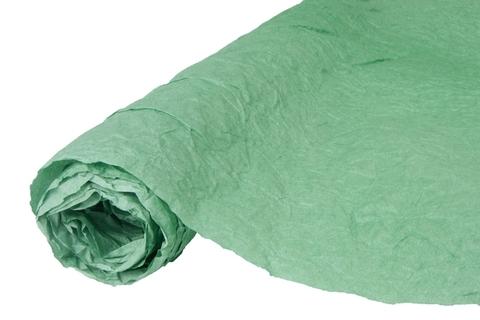 Бумага жатая эколюкс 70см х 5м зеленая 10