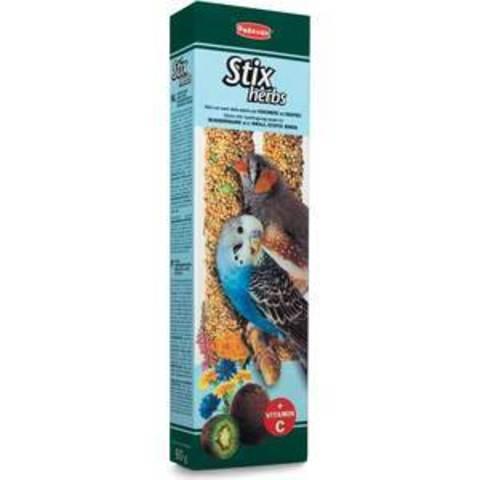 Padovan Stix Herbs Cocorite Esotici палочки для волнистых попугаев и экзотических птиц с вит. С 60г