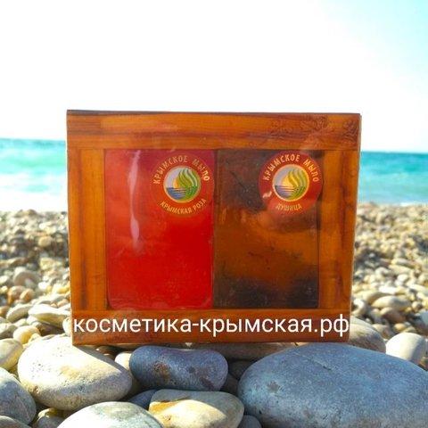 Натуральное Мыло «Крымская Роза+Душица»™Фитон-Крым