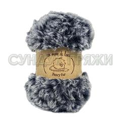 Wool Sea Fancy Fur 9987 (маренго-серый меланж)