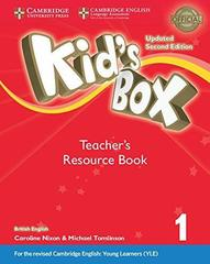Kid's Box UPDATED Second Edition 1 Teacher's Resource Book with Online Audio