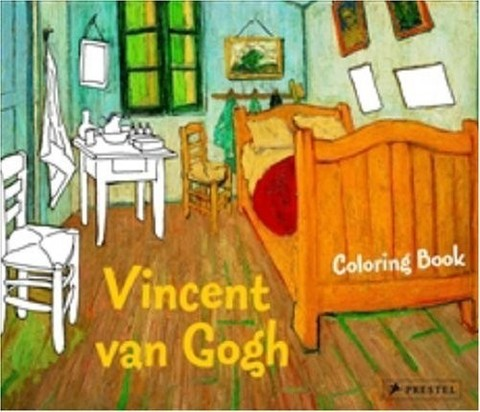 9783791343310 - Coloring book Vincent Van Gogh