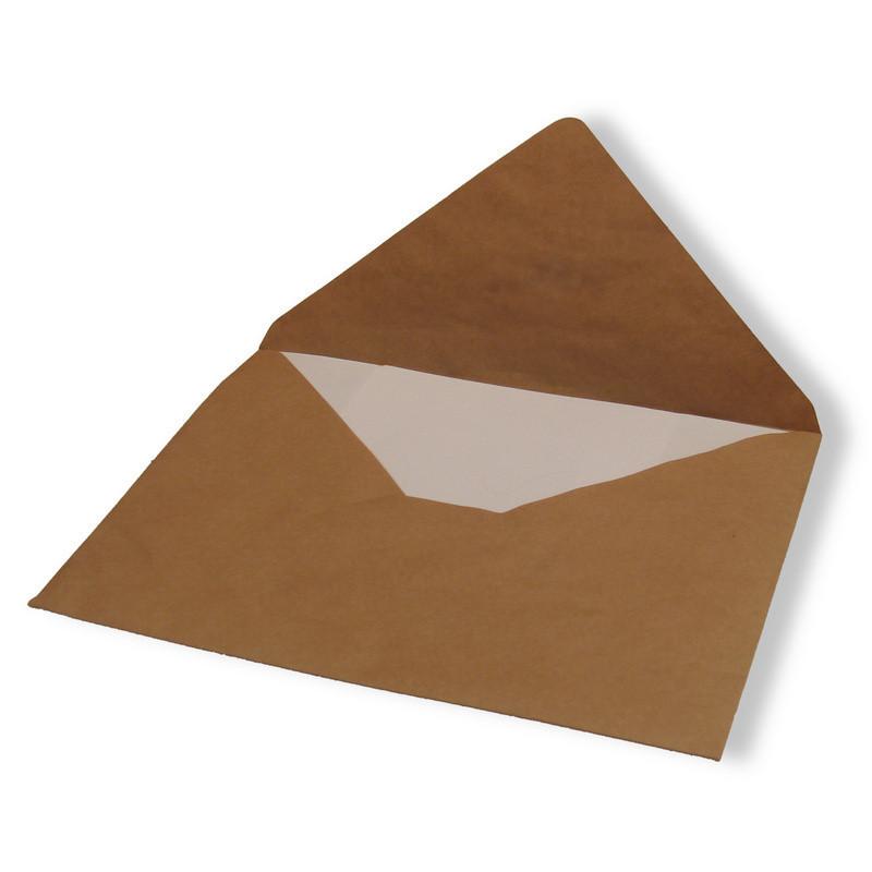 Конверт Е4 80 г/кв.м крафт (500 штук в упаковке)