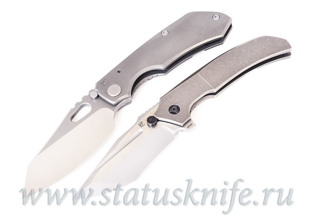 Сет ножей CKF Evolution 2.0 grey Ti и Satori 2.0