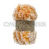 Wool Sea Fancy Fur 9989 (оранжево-белый меланж)