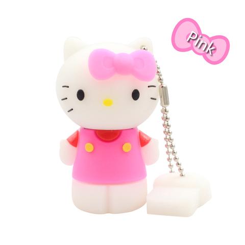 USB-флешка Hello Kitty розовая