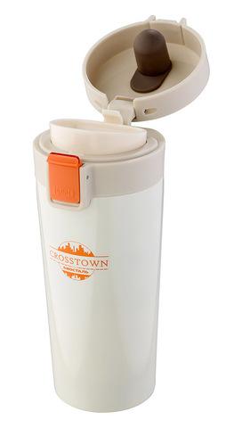Термокружка Biostal Crosstown (0,4 литра), белая