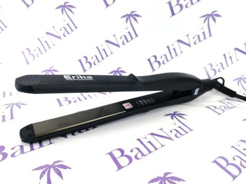 Щипцы-выпрямители для волос, титановые пластины  21 мм, t 160-220 °С, 65 Вт, вращ шнур 2,5 м, цвет черный