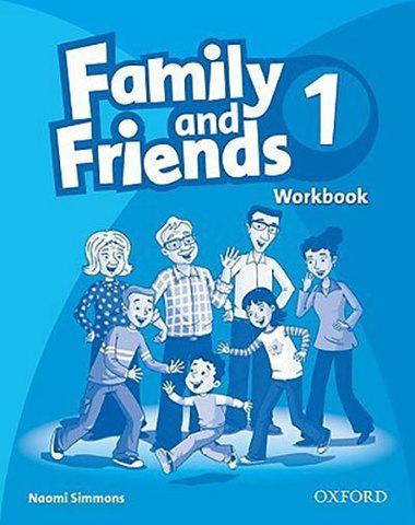 9780194812016 - Family and Friends 1  Workbook