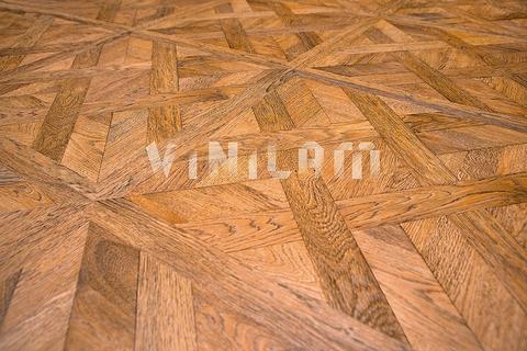 Кварц виниловая плитка Vinilam 216511 - Паркет Светлый