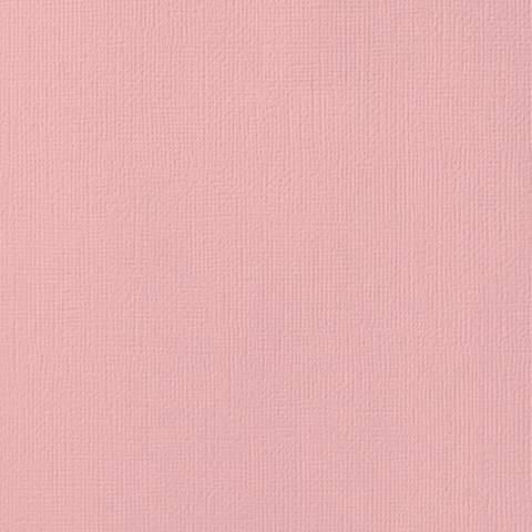 Текстурированный кардсток 30х30 American Crafts Textured Cardstock - Цвет Blush