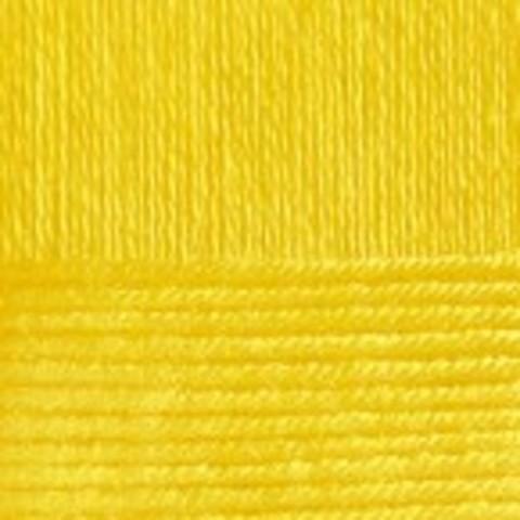 Пряжа Вискоза натуральная Пехорка 12 Желток, фото