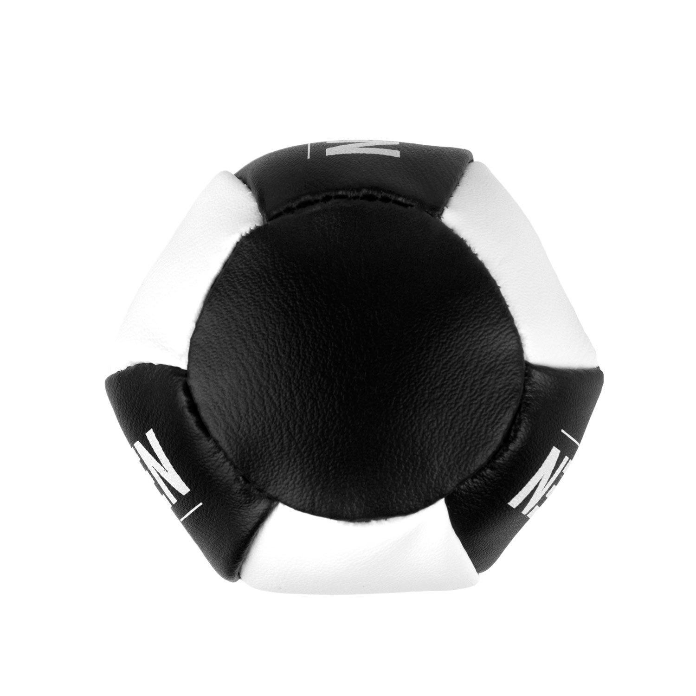 Брелок мини-груша Dozen Light черно-белый вид снизу