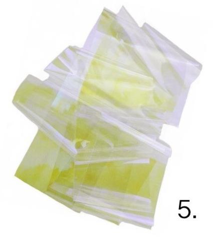 Битое стекло для дизайна ногтей №5 купить за 100руб
