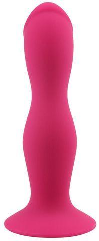 Розовая анальная втулка Rumpy-pumpy - 15 см.