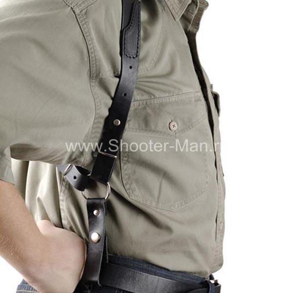 Оперативная кобура для пистолета Глок 17 вертикальная ( модель № 20 )