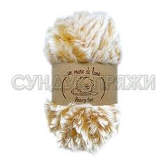 Wool Sea Fancy Fur 9995 (рыже-белый меланж)