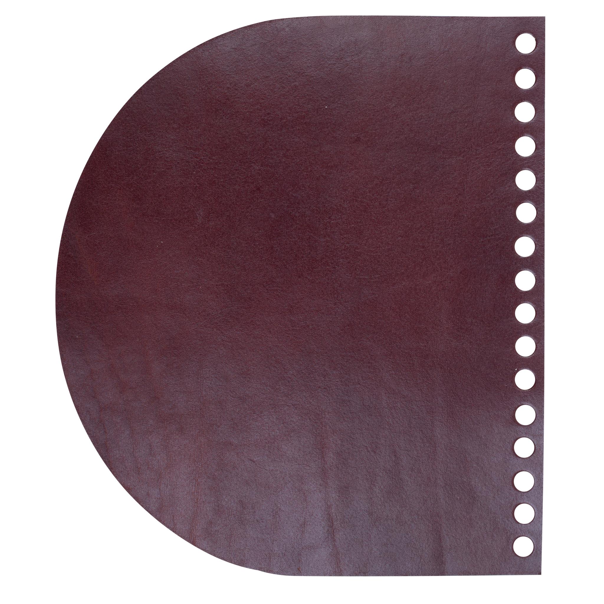 "Кожаная фурнитура Клапан для сумочки кожаный ""Вишня лак"" IMG_9600.jpg"