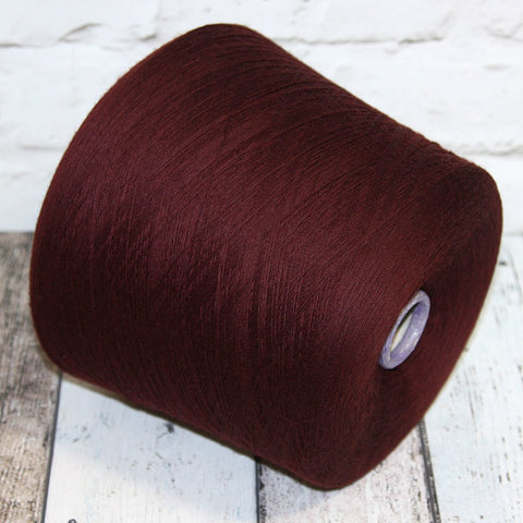 Меринос кэшвул (cashwool) Zegna Baruffa бордово-коричневый