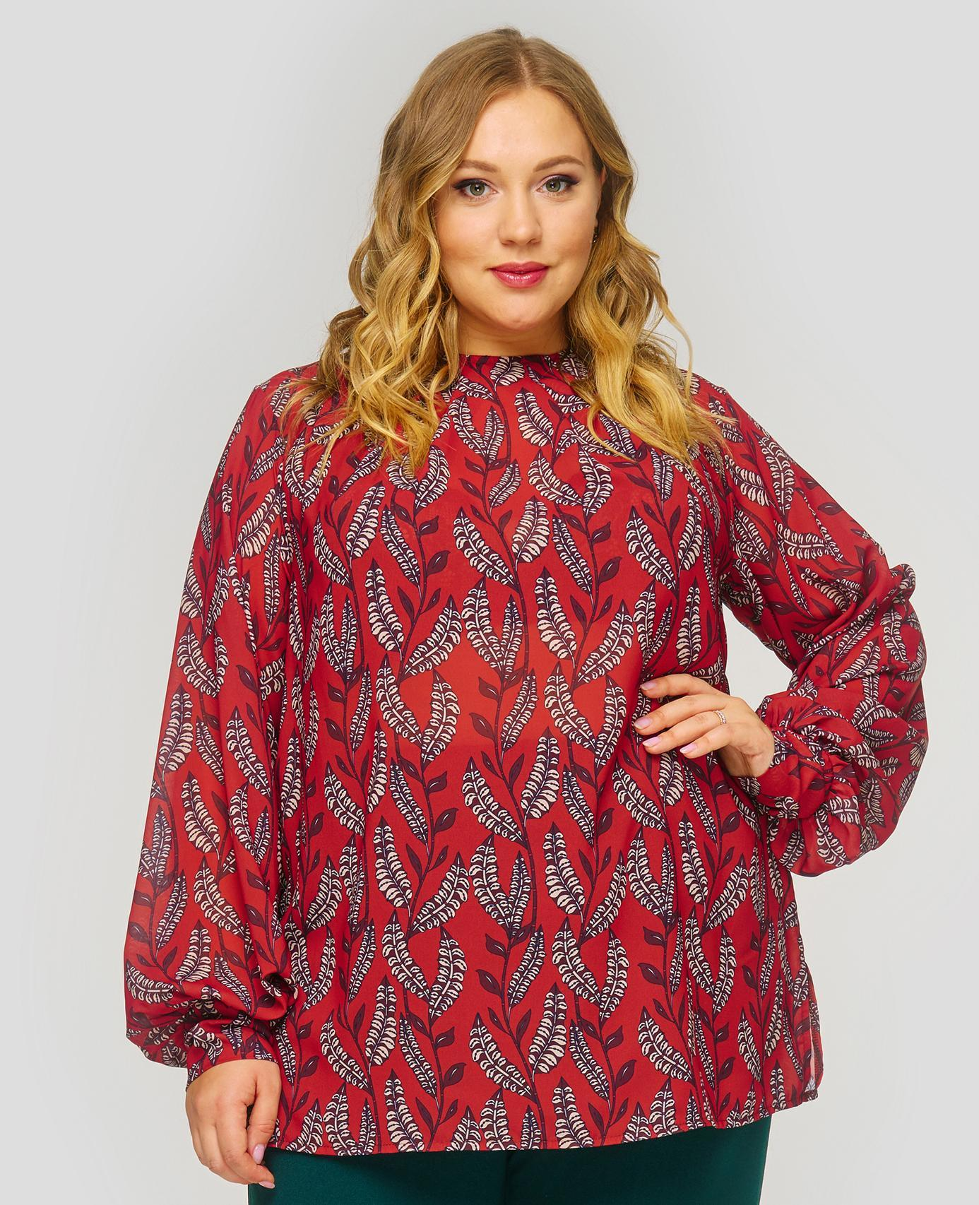 Блузки Блузка с принтом 1822502 242abb260541c73fb6b9c79d063c62e8.jpg