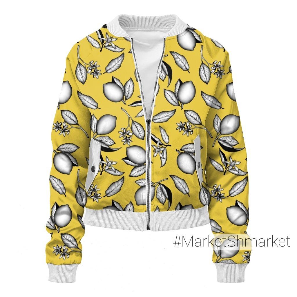 Лимоны на желтом