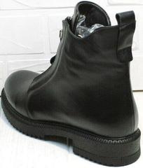 Модные ботинки черные женские осень Tina Shoes 292-01 Black.