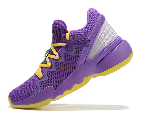 adidas D.O.N. Issue 2 'Purple/Yellow'