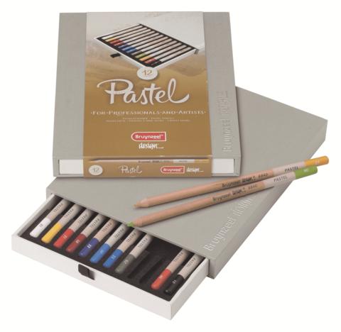 Набор пастельных карандашей Design 12 цветов в подарочной упаковке