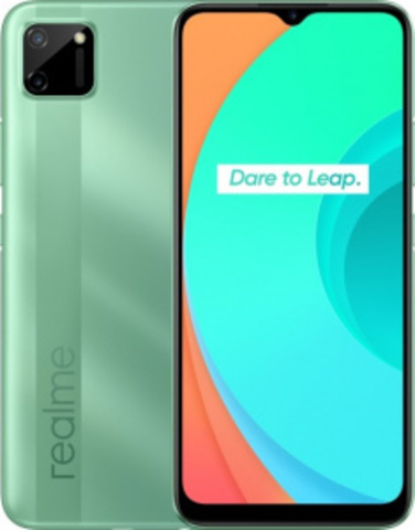 Смартфон realme C11 2/32GB, зеленый