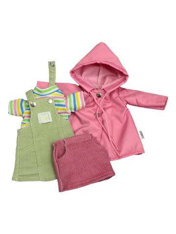 Комплект с сарафаном - Розовый. Одежда для кукол, пупсов и мягких игрушек.