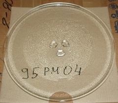 Тарелка СВЧ 255mm (с крепл.10коп.) DAEWOO, ROLSEN и др.