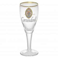 Набор из 6 бокалов для пива Corsendonk на высокой ножке, 330 мл, фото 2