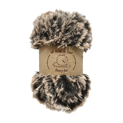 Wool Sea Fancy Fur (100% полиэстер, 50гр/33м)