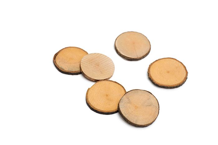 Деревянные спилы из коллекции Finders Keepers