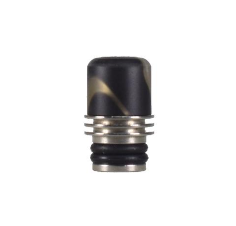 Drip-Tip Acrylic + SS 17.5mm чёрный