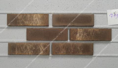 Feldhaus Klinker - R749NF14, Vascu Geo Rotado, 240x14x71 - Клинкерная плитка для фасада и внутренней отделки