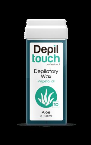 Теплый воск Depiltouch с экстрактом алоэ, 100 мл