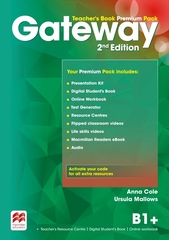 Gateway Second Edition B1+ Teacher's Book Premi...