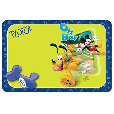 Triol Disney коврик под миску Pluto & Mickey 43х28см