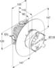 Скрытая часть KLUDI FLEXX.BOXX 88011 схема