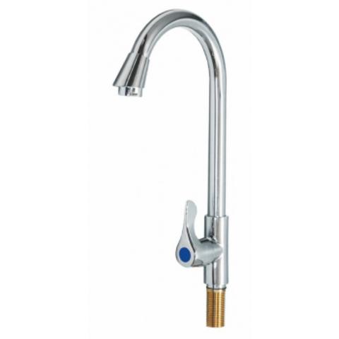 VIKO 7050, смеситель для кухни с подключением только холодной воды, МОНО-елка