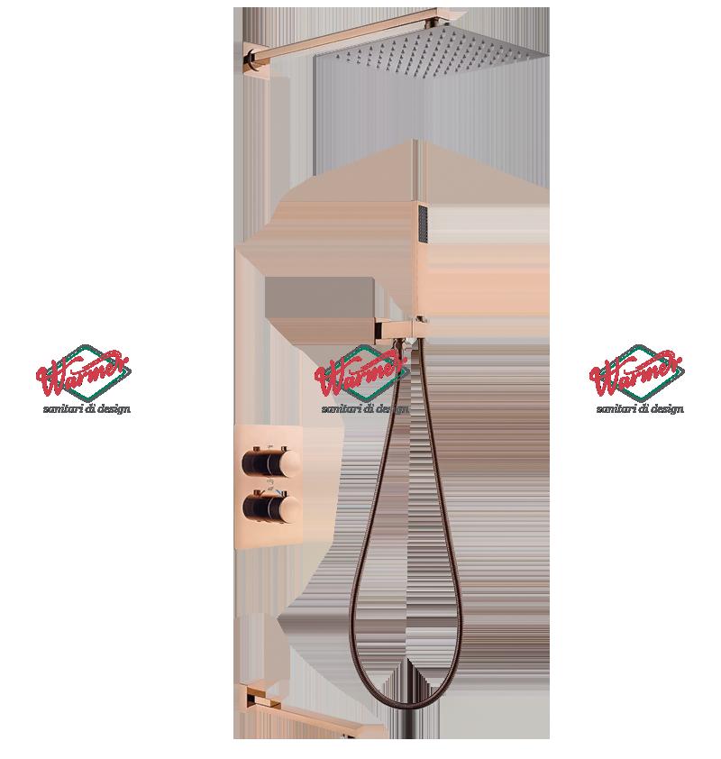 Душевая программа Душевой термостатический комплект Warmer Rose Gold Line 400300-8D Termo Скриншот-12-12-2020-064337.png