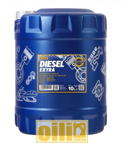 Mannol 7504 DIESEL EXTRA 10W-40 10л