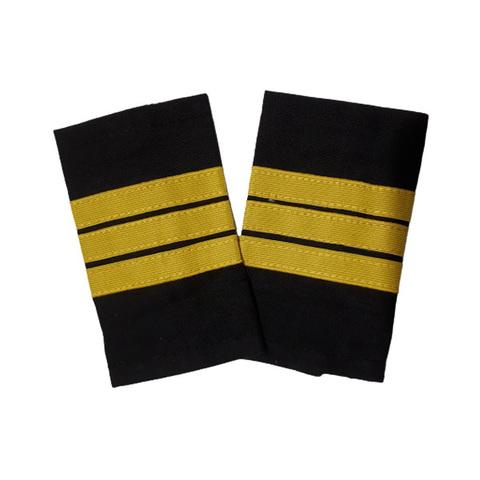 Фальшпогоны черные сержант