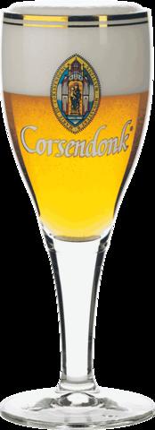 Набор из 6 бокалов для пива Corsendonk на высокой ножке, 330 мл