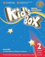 Kid's Box UPDATED Second Edition 2 Activity Boo...