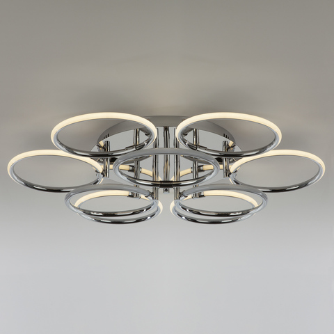 Светодиодный потолочный светильник 90069/9 хром